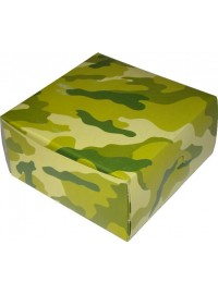 Camouflage Square Party Box