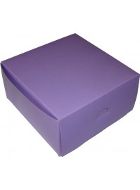 Lilac Square Party Box