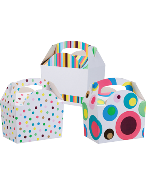 Stripes and Dots Meal Boxes (3)
