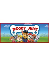 Doggy Juice Oros Bottle Sticker