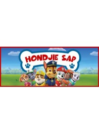 Hondjie Sap Oros Bottle Sticker