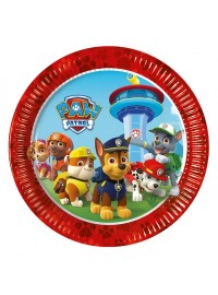 Paw Patrol Let's Roll Plates (8)