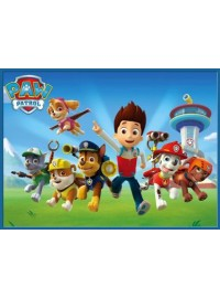 Paw Patrol Meal Box / Bucket Sticker