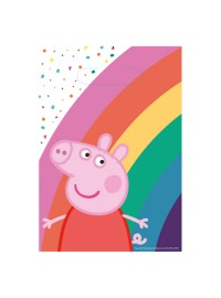 Peppa Pig Confetti Party Bags (6)