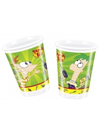Phineas and Ferb Cups