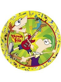 Phineas and Ferb Plates