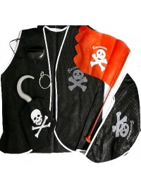 Pirate Dress Up Set (6 pcs)