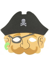 Pirate Foam Mask
