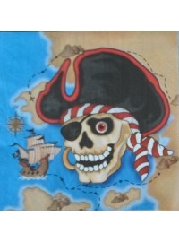 Pirates Napkins (12)
