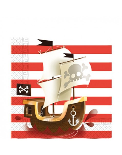 Powerful Pirates Napkins (20)