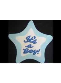 It's a Boy Star Poly