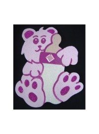 Baby Teddy Poly - Pink