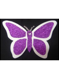 Butterfly Poly - Purple