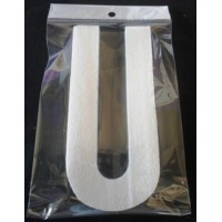 Poly U - 20cm Plain - Narrow Lettering