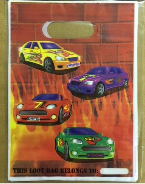 Racing Heat Party Bags (10)