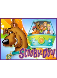 Scooby Doo Meal Box / Bucket Sticker