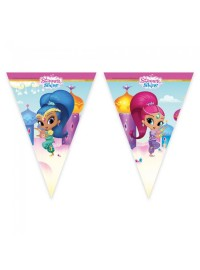 Shimmer and Shine Flag Banner