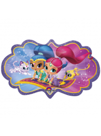Shimmer and Shine Supershape Foil Balloon