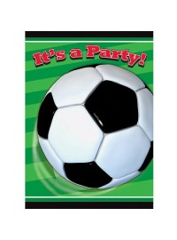 Soccer Ball Invitations