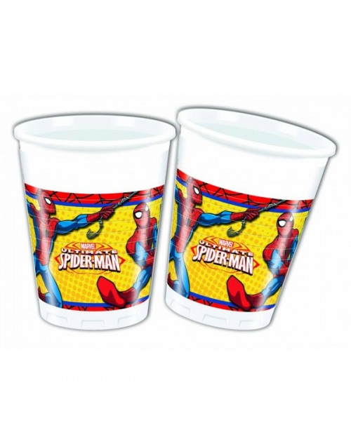 Ultimate Spiderman Cups (8)