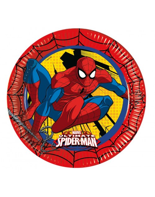 Ultimate Spiderman Plates (8)
