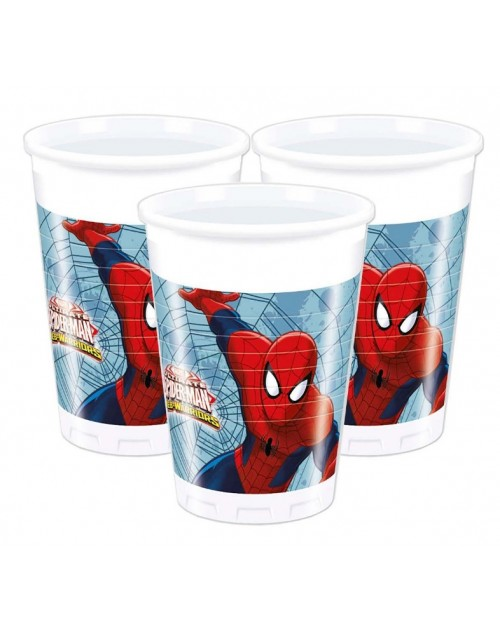 Spiderman Web Warriors Cups (8)