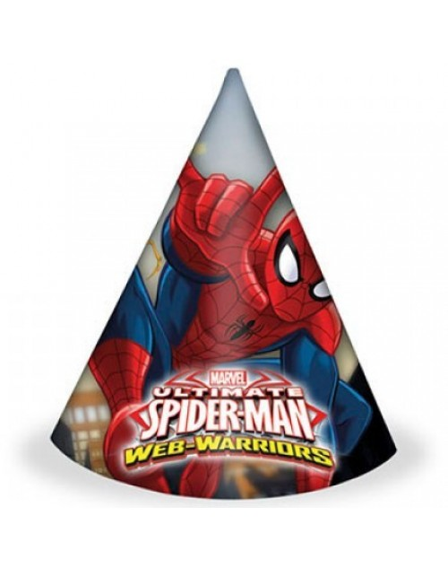 Spiderman Web Warriors Hats (6)
