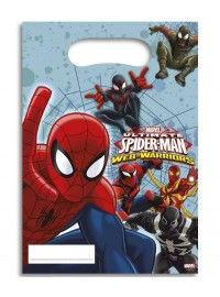 Spiderman Web Warriors Party Bags (6)