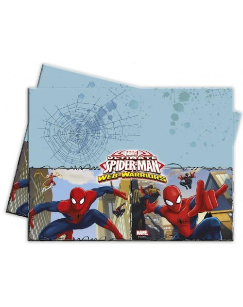 Spiderman Web Warriors Tablecover