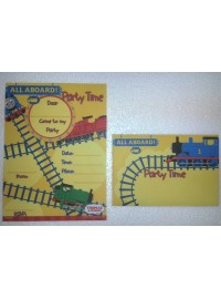 Thomas and Friends Invitations (8)