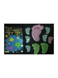 Glow in Dark Feet (9 pcs)