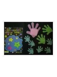 Glow in Dark Hands (9 pcs)