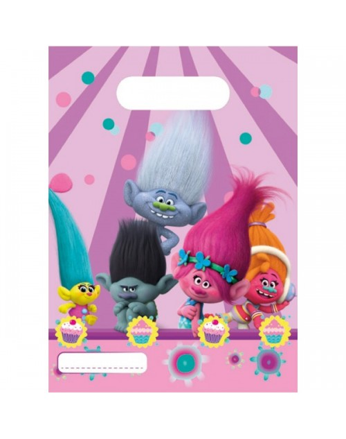 Trolls Party Bags (6)