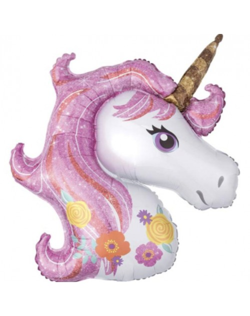 Unicorn Supershape Foil Balloon