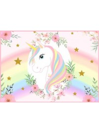 Unicorn Meal Box / Bucket Sticker