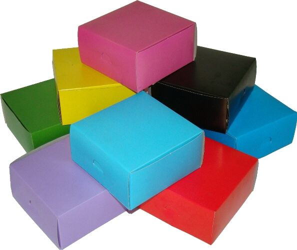 Plain Square Party Boxes